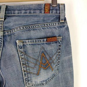 💥Sale 7 for all mankind A pocket jeans sz 30